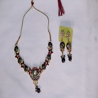 Sumans Meenakari Alloy set.