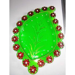 Festive Special - Decorative Acrylic Thali