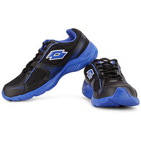 Lotto Men's Blue & Black Running Shoes