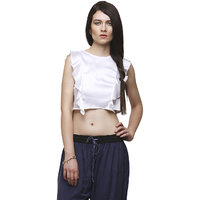 Yepme Lorri Crop Top - White