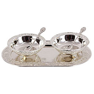 Tray with 2 Bowls