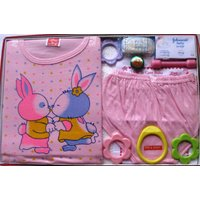Love Baby Gift Set Tom  Jerry  Pink