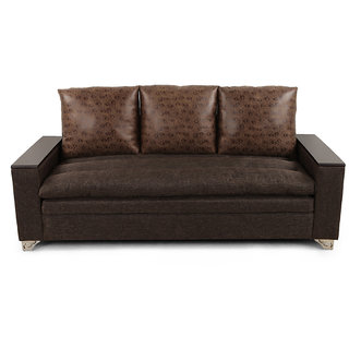 Arra Dalton Sofa Set 3+2+1 Brown