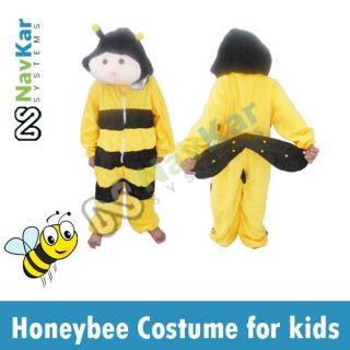 HoneyBee Costume for Fancy Dress Competition for Kids Insect Fancy Dress 4 Kids