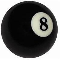 POOL BLACK BALL (SINGLE PIECE)
