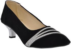 Altek Womens Black Heels