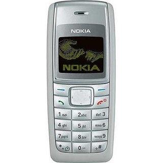 Nokia 1110 mobile housing body white