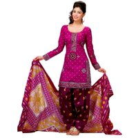 Miraan Multicolor Cotton Printed Salwar Suit Dress Material