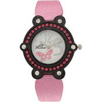 Florence FL-PK-BLK-F-073 Black Dial Analog Watch For Women