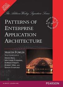 Patterns Of Enterprise Application Architecture (Paperback)