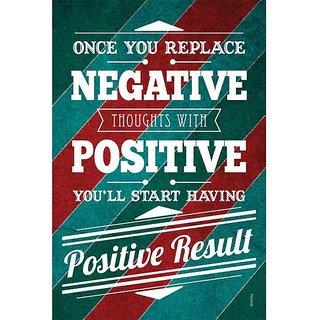 Negative vs Positive Poster