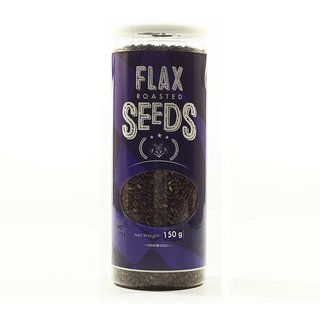 True Elements Roasted Flax Seeds 150gm