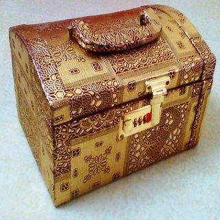 new wedding golden designer vanity bag make up jewelry box for