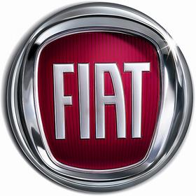 FIAT PUNTO CAR MONOGRAM FRONT GRILL LOGO EMBLEM chrome BADGE