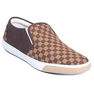 Blue-Tuff Mens Brown Slip on Casual Shoes