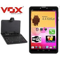 VOX V102 Dual SIM Calling Tablet with keyboard