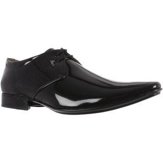 Benin Black Men Office Footwear Lace