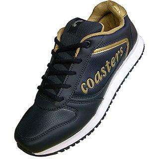 Buy Coasters Black Gold Athelatic Shoes