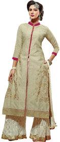 Parisha  Latest Collotion Of Straight Suits In Chanderi Fabric PVKCKP30013