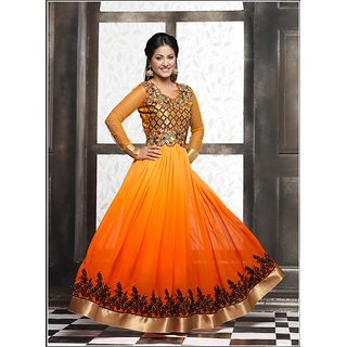 new designer fency anarkali suit