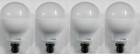 Led bulbs combo- pearl white 3 W set of 5