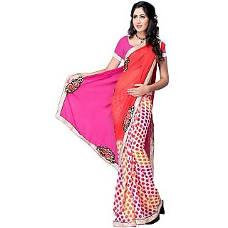 Printed Fashion Chiffon Sari