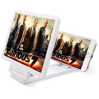 Latest 7.8 Inch Large Tablet and Phone Screen Magnifier 3D Movie Amplifier Adjustable B