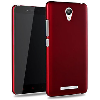 best website 3dcf6 7e42a Hard Back Cover Case For Gionee Marathon M4 Red