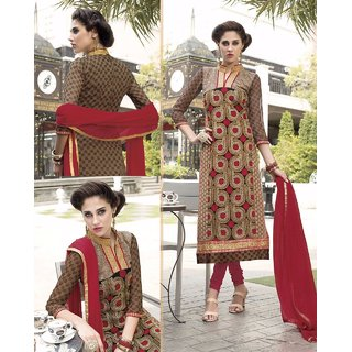 Styloway New Designer Avadh Embroidered Salwar suit
