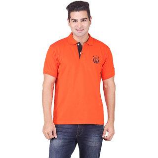 PEP CLUB Mens Polo T-shirt-100 Organic Cotton with Bio Wash