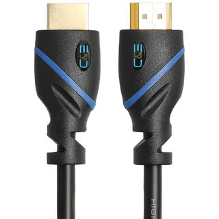CE CNE73607 High Speed HDMI Cable 1.5-Feet with Ethernet CL3 Certified Supports 3D and Audio Return Channel