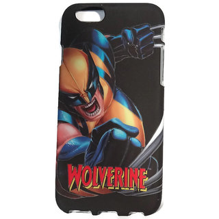 best sneakers f47cc cdc34 IPHONE 6 MOBILE NIGHT GLOW RADIUM FLEXIBLE BACK COVER WOLVERINE