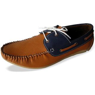 Louis Praiyo Tan Mens Casual Lace-Up Shoes