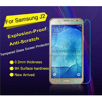 KMS 2.5D Curved Edge Tempered Glass Screen Protector For Samsung Galaxy J2