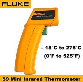 Fluke 59 Mini Infrared Thermometer (Temp Range -18C to 275C, Thermopile 6.5-18