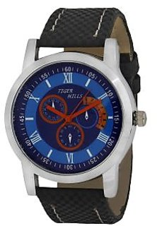 TIGERHILLS CRONOGRAPH STYLE BLUEISH WATCH FOR MEN