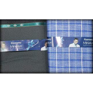 Siyaram's Men's Pent Shirt Combo