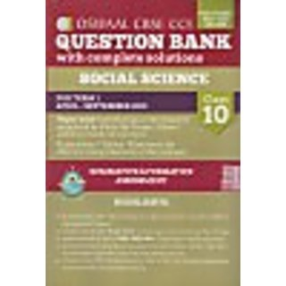 Oswaal Cbse Cce Question Bank With Complete Solutions For Class 10 Term I  (April To September 2015) Social Science (English) 1 Edition