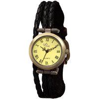The Pink Vintage Black Wrist Watch By Gledati