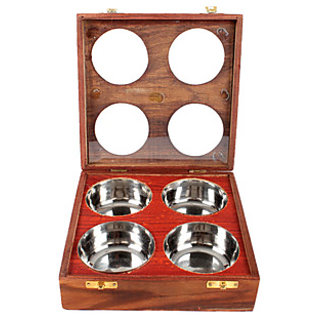 Wooden Dry Fruit/ Sweets / Spices Box by Desi Karigar