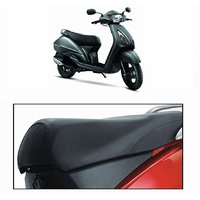 Seat Cover for TVS JUPITER Scooty -Black by Desi Karigar