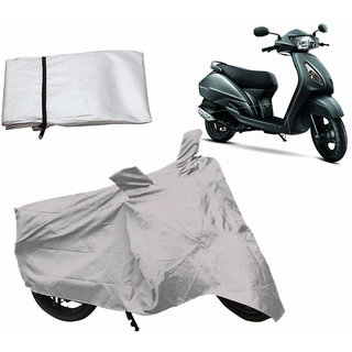Scooty Cover For TVS JUPITER Scooty - Silver by Desi Karigar