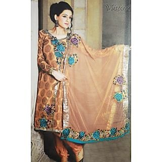 Vivaa Semi Stiched Salwar Suit With Dupatta-15