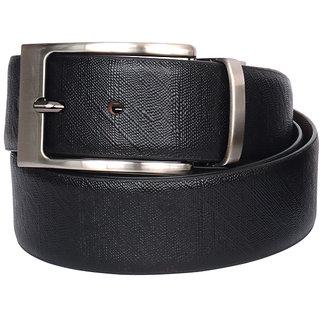 The BrandStand Mens Reversible Genuine Leather Belt (Lizard Print - Pin Buckle)