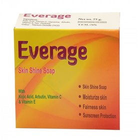 Everage Skin Shine Soap 75gm Pack of 10