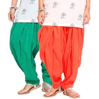 BrandTrendz  Set of 2 Cotton Patiyala Salwar