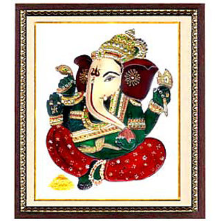handmade ganesha paintings