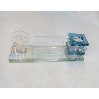 Table Top Crystal And Ganesha