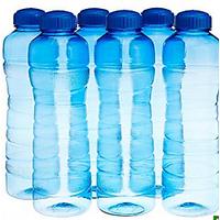 Plastic Bottles 1 Ltr - Set Of 3 Bottles