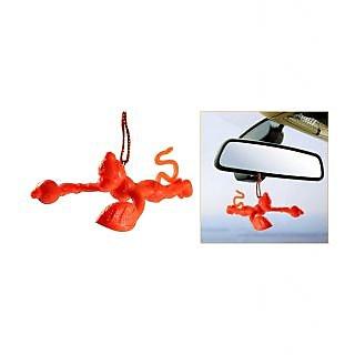 Takecare Flying Lord Hanuman Hanging Car Idol For Maruti Swift Dzire New 2015